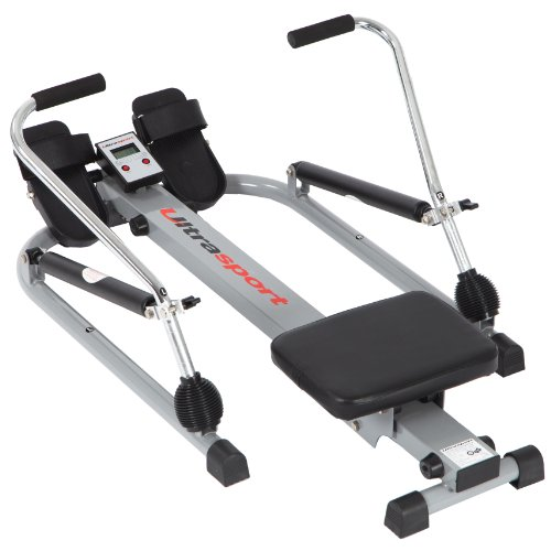 Ultrasport Rowing Machine - Silver/Black