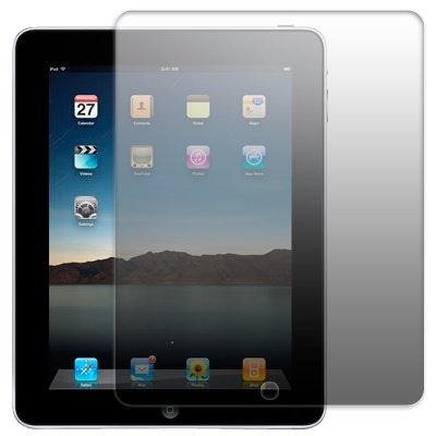 APPLE IPAD SCREEN PROTECTOR PART OF THE QUBITS ACCESSORIES RANGE