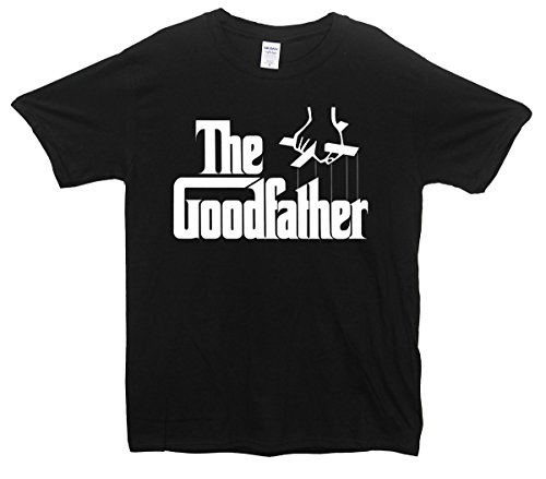 Minamo The Goodfather Godfather Parody Fathers Day Dad T-Shirt X-Large (46-48 Inches) Black