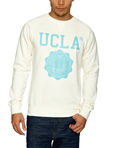 UCLA Lauther Men's Sweatshirt Ecru Medium