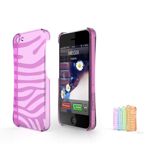 Megix Technology Moon Series Hard Case For Apple Iphone 5/5S - Retail Packaging
