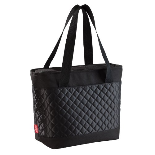 Coleman Cooler C006 Soft 24 Can Fash Tote, Black