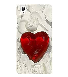 Vizagbeats love diamond Back Case Cover for Oppo A37