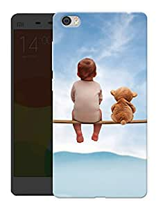 "Humor Gang Baby Friend Cute Printed Designer Mobile Back Cover For ""Xiaomi Redmi Mi5"" (3D, Matte, Premium Quality Snap On Case)"