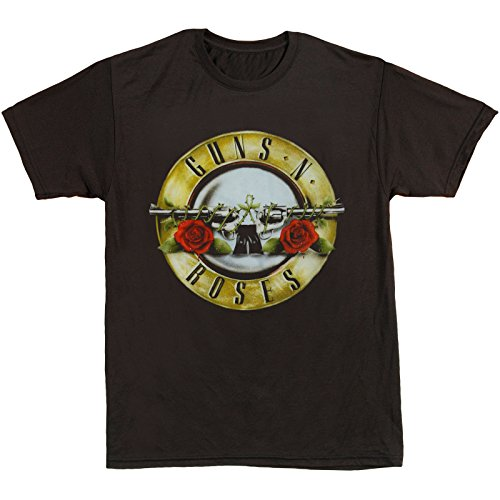 Licensed Guns N' Roses Bullet Logo Active T-shirt - S to XXL