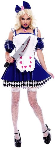 Wicked Wonderland Alice Deluxe Costume (Women's Adult Large)