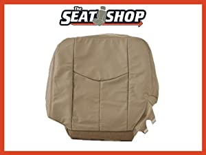03 04 05 06 Chevy Suburban Tahoe GMC Yukon Shale Leather Seat Cover LH bottom