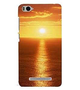 Printvisa Sunset Scenic Pic Back Case Cover for Xiaomi Redmi MI 4C::Xiaomi Mi 4C