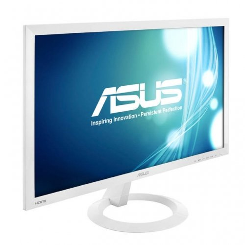 """Asus Vx238H-W White 23"""" 1Ms (Gtg) Hdmi Widescreen Led Backlight Lcd Monitor 250 Cd/M2 80,000,000:1 Built-In Speakers"""