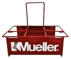 Mueller Bottle Carrier - Wire - Holds 6 Quart Size Bottles - Heavy Duty Steel by Mueller