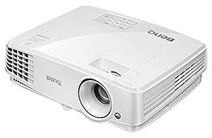 BenQ 9H.JFD77.13E MW529 DLP-Projektor (WXGA, Kontrast: 13000:1, 1280x800 Pixel, 2x HDMI, 3300 ANSI Lumen)