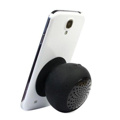 Best Black Mini Waterproof Silicone Suction Mushroom Bluetooth Speaker Wireless Hands Free