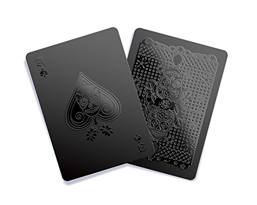 Black Playing Cards - Day of the Dead Edition by Gent Supply Co (Virtuoso Playing compare prices)