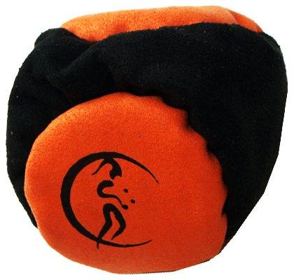 flames-n-games-pro-footbag-aka-hacky-sack-2-panneaux-noir-orange-parfait-pour-les-stands-et-les-reta