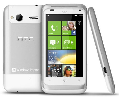 HTC Radar C110E Unlocked Windows Phone 7.5 (White)