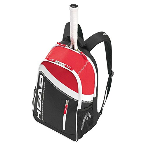 Head 2015 Core Tennis Backpack (Black/Red)