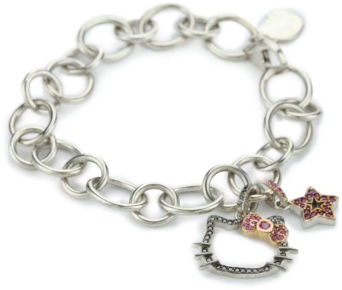 "Hello Kitty by Kimora Lee Simmons ""Glam"" Charm Bracelet, 7″"