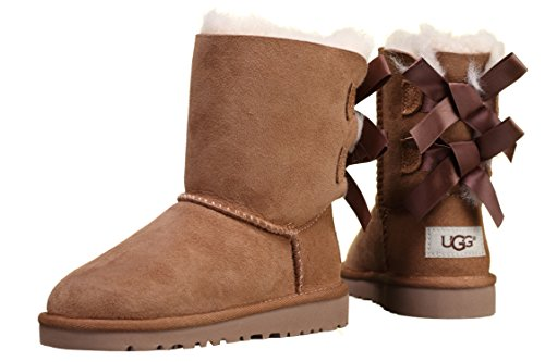 UGG - Bottes fille T Bailey Bow 3280t T Chestnut