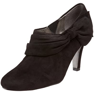 Tahari Women's Greyson Bootie,Black Suede,6 M US