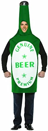 Beer bottle Halloween Costume