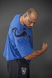 BIG SAM SPORTSWEAR COMPANY Ragtop Rag Top Sweater Gym T-Shirt BODY DOG Logo Skorpion *3183*