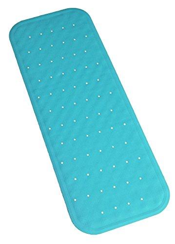 Bath Mat Non Slip Natural Rubber PVC FREE Extra Long Bath Mat Safe Se