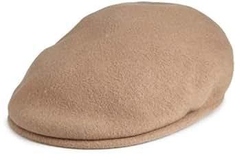 Kangol Men's Wool 504 Cap,Camel,Small