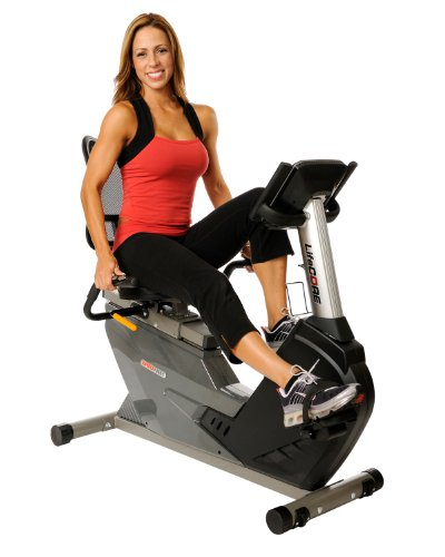 Lifecore Fitness LC850RBS Compact Self Powered Recumbent Bike