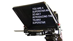 Telmax SuperStar iPad and Tablet Teleprompter - Manufactured in the USA