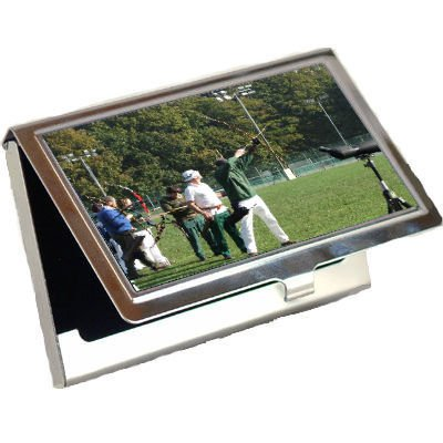 Archery Business Card Holder