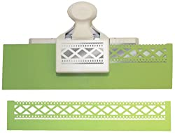 Martha Stewart Crafts Deep Edge Punch, Diamond Fence