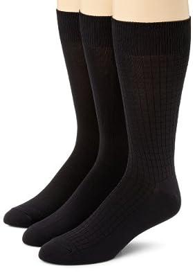 Calvin Klein Men's 3 Pack Microfiber Assorted Pack Socks