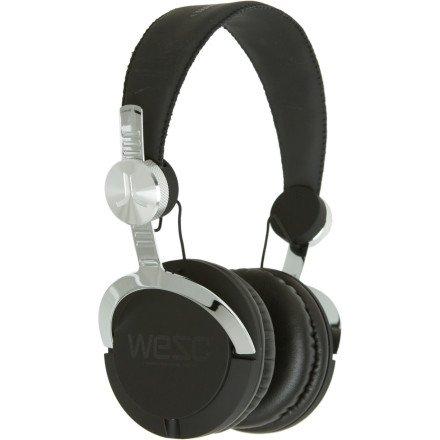 Wesc Bass Dj Headphones - Black
