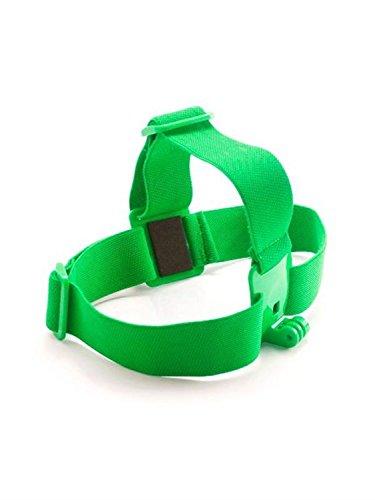 Fnkaf Elastic Adjustable Head Strap For Gopro Hd Hero 1 2 3 Action Sports Video Cameras Green