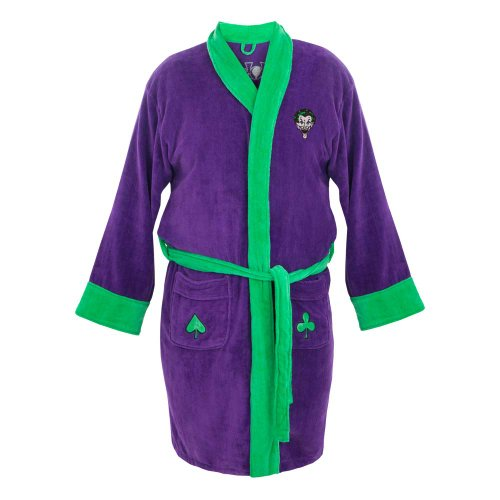 The Joker Fleece Robe
