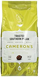 Cameron's Toasted Southern Pecan Whole Bean Coffee, 32-Ounce Bag