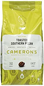 Cameron's Whole Bean Coffee, Toasted Southern Pecan, 32 Ounce