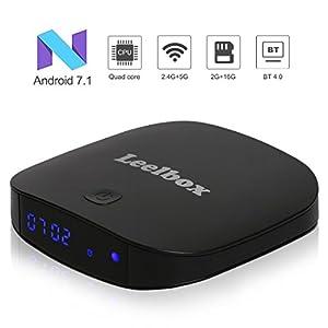 Android TV BOXー4K 高精細 アンドロイド7.1 Wifi テレビボックス 2GB RAM 16GB ROM 搭載【Leelbox】Q2 Pro