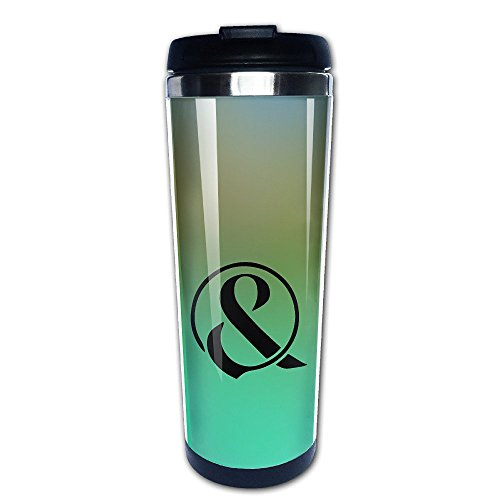 Beaufiy Of Mice & Men Band Logo Stainless Steel Travel Tumbler Coffee Mug Black (Jin Jin Jelly compare prices)