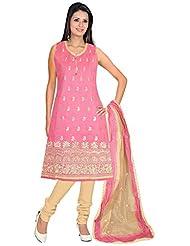 Elan Vital Women's Cotton Silk Straight Salwar Suit