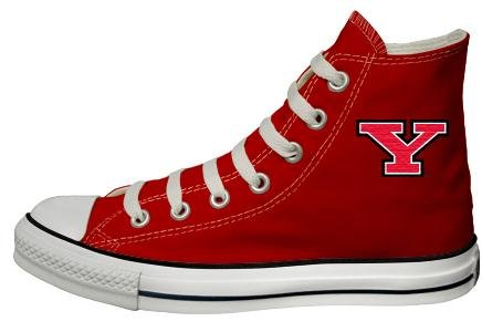 Buy Converse Chuck Taylor All Star Hi Top Red Youngstown State University Logo Red Canvas