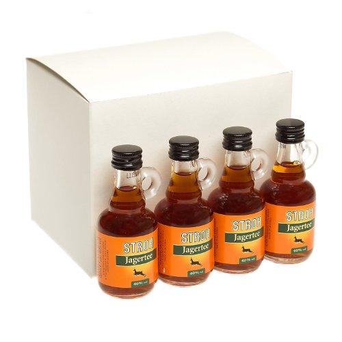 Stroh Jagertee Austrian Spiced Rum 4cl Miniature - 12 Pack