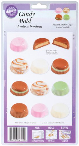 Wilton(R) Candy Mold - Peanut Butter Cups