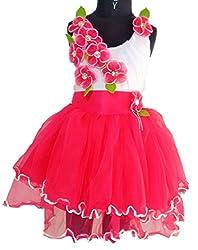 My Lil Princess Red Flora Dress
