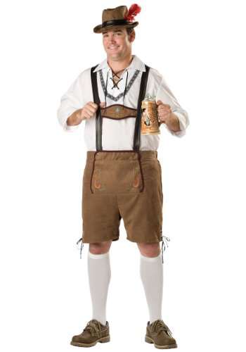 Incharacter Mens Hansel Beer Guy Oktoberfest Theme Party Holiday Costume