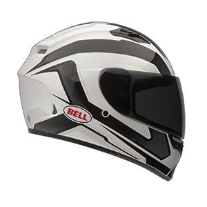 Bell Cam Adult Qualifier Street Motorcycle Helmet - Black - Large by Bell