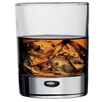 Centra Double Old Fashioned Tumbler Glasses - 11.5oz (Box 6) Ideal for Whiskies and Spirits