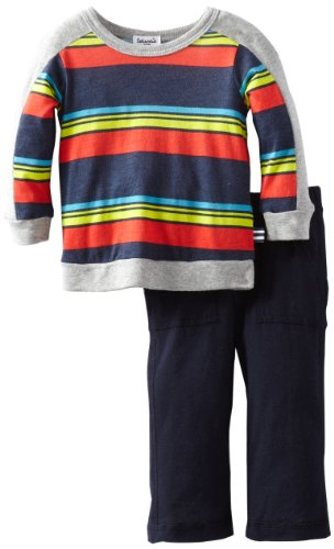 Review Splendid Littles Baby-Boys  Zuma Stripe Pant Set, Barrel, 12-18  Review