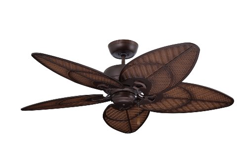 Emerson Ceiling Fans CF621VNB Batalie Breeze 52-Inch Indoor Outdoor Ceiling Fan, Wet Rated, Light Kit Adaptable, Venetian Bronze Finish (Wet Ceiling Fan compare prices)
