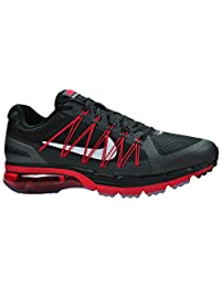Nike Men's Air Max Excellerate 3 Black / University Red Mesh Running Shoes 13 M US